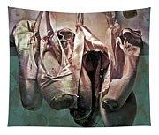 Worn Ballet Slippers Tapestry