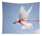 Wounded Peace 2 Tapestry