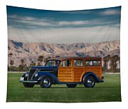 Wow Woodie Tapestry