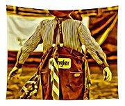Wrangler Clown Tapestry