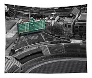 Wrigley Field Chicago Sports 04 Selective Coloring Tapestry