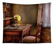 Writer - Desk Of An Inventor Tapestry