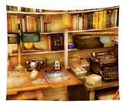 Writer - The Desk Of A Writer  Tapestry