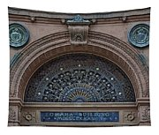 Wrought Iron Grille - The Omaha Building Tapestry