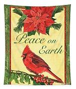 Xmas Around The World 1 Tapestry by Debbie DeWitt