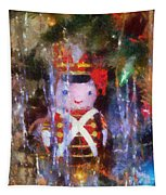 Xmas Soldier Ornament Photo Art 02 Tapestry