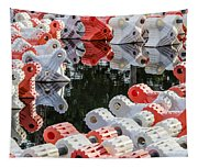 Yacht Club Buoys 4 Tapestry