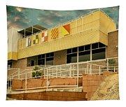 Yacht Rock Vintage Effect North Shore Yacht Club Salton Sea Tapestry