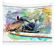 Yamaha Pelican Tapestry