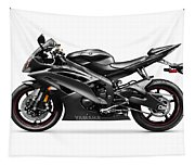 Yamaha R6 Supersport Motorcycle Tapestry