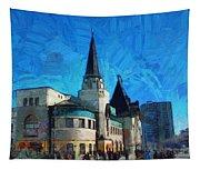 Yaroslavsky Railway Station Tapestry
