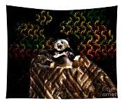 Yawning Panda  Tapestry