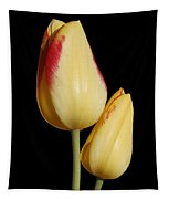 Yellow And Red Tulips  Tapestry