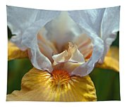Yellow And White Iris Tapestry