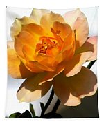 Yellow And White Rose Tapestry
