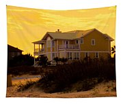 Yellow Beauty At Isle Of Palms Tapestry