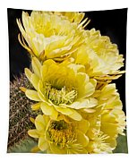 Yellow Bouquet Tapestry