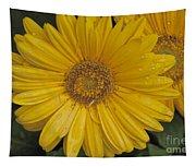 Yellow Daisy Tapestry