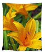 Yellow Daylily Tapestry