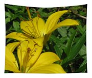 Yellow Easter Lily Tapestry