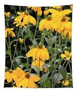 Yellow Echinacea Tapestry