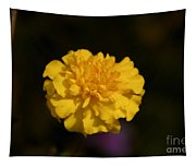 Yellow Fall Flower Tapestry