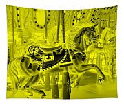 Yellow Horse Tapestry