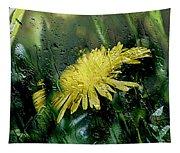 Yellow In The Rain Tapestry