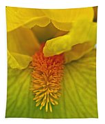 Yellow Iris Beard Tapestry