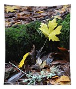 Yellow Leaf Tapestry