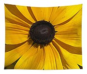 Yellow Macro Tapestry