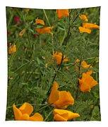 Yellow Poppies Dsc07460 Tapestry