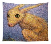 Yellow Rabbit Tapestry