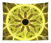 Yellow Rays Tapestry