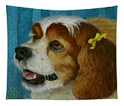 Yellow Ribbons Tapestry