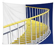 Yellow Steps 2 Tapestry