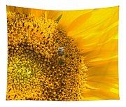 Yellow Sunflower - Detail Tapestry
