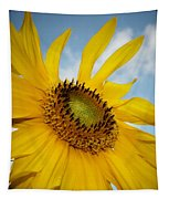Yellow Sunflower Tapestry