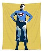 Yellow Superman Tapestry