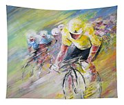 Yellow Triumph Tapestry
