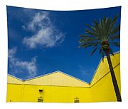 Yellow Warehouse Tapestry