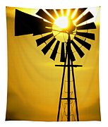 Yellow Wind Tapestry