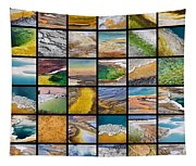 Yellowstone Colors Tapestry