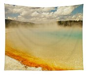 Yellowstone Hot Springs Tapestry