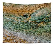Yellowstone Living Thermometer Abstract Tapestry