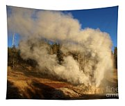 Yellowstone Riverside Eruption Tapestry