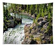 Yellowstone - Upper Falls Tapestry