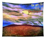 You Own The Skies Tapestry