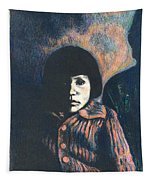 Young Girl Tapestry