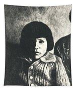 Young Girl Original Tapestry